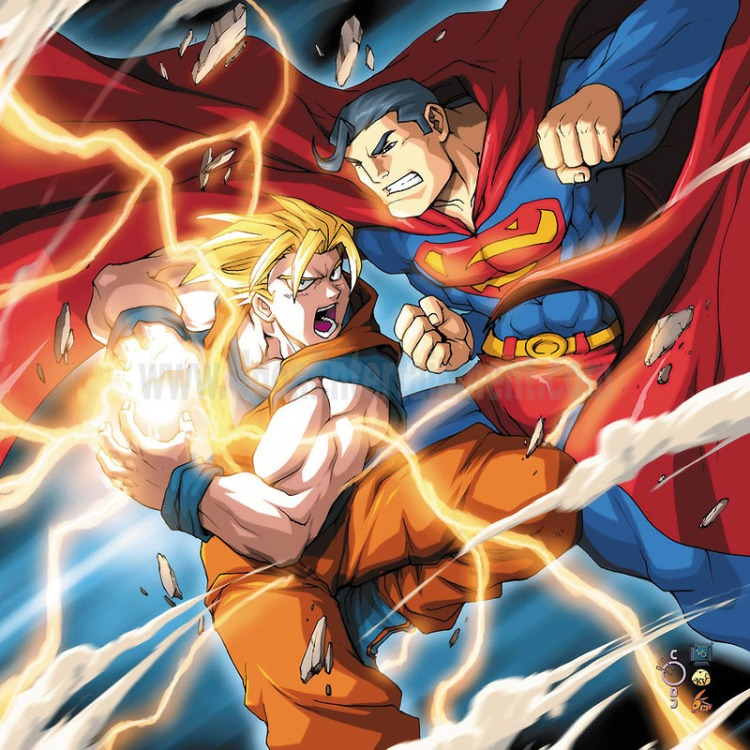Superman Vs Goku