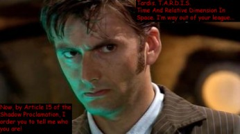 10th Doctor Lost Crossover
