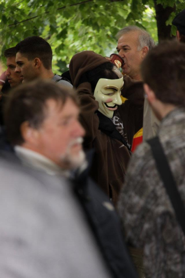 Occupy Montreal V for Vendetta