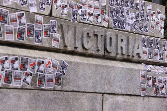 Occupy Montreal Plastering VIctoria