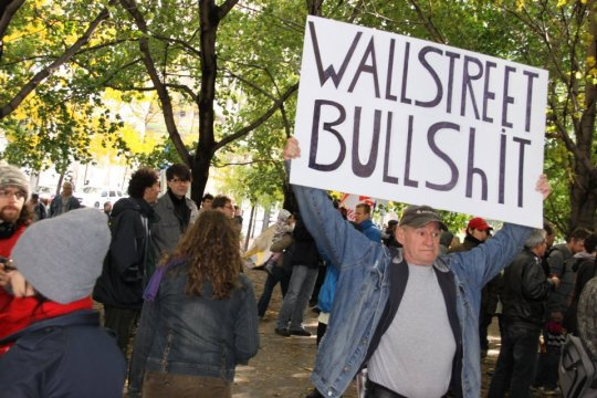 Occupy Montreal WallStreet